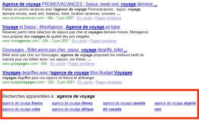 recherche-apparentee-google