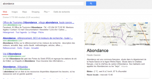 abondance-google