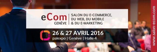 salon e-com Genève avril 2016 - 1ère Position