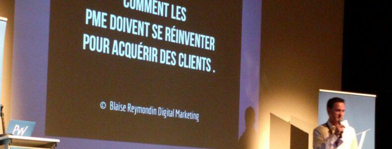 Comment les PME doivent se réinventer pour acquérir des clients ? par Blaise Reymondin