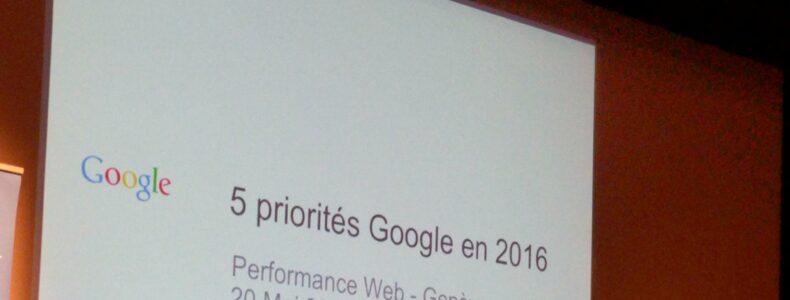 Echanges sur les nouveautés search avec Google : questions/réponses par Zineb Ait