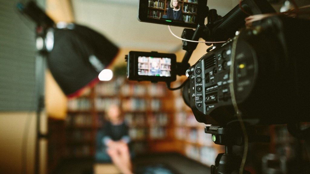 Prise de vue pour du vidéo marketing