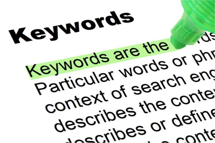 keywords mot-cle referencement seo - 1ère Position