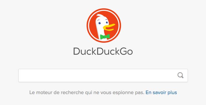 duckduckgo logo moteur recherche alternatif google