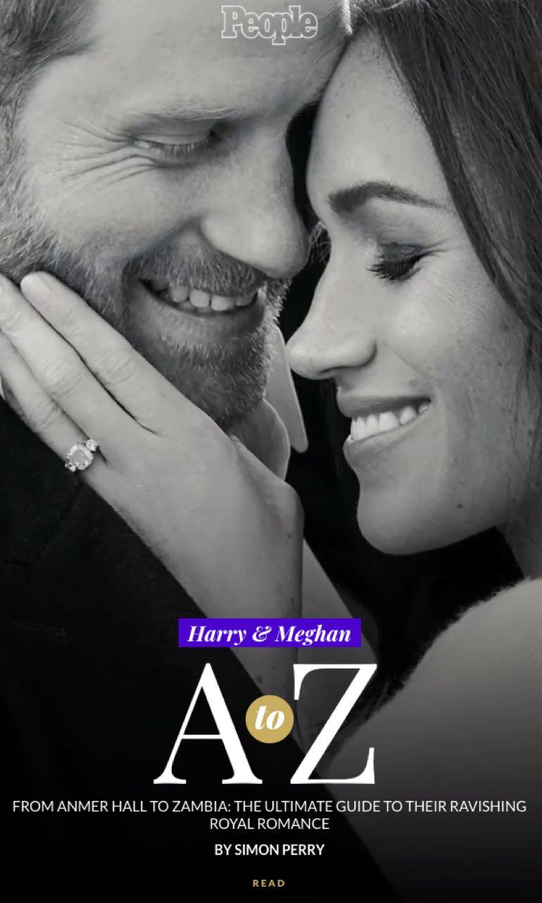 AMP Story de Meredith : Histoire d'amour entre Harry et Meghan de A à Z
