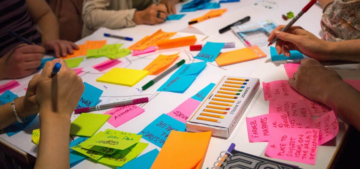 réunion brainstorming rédaction web 1ère Position