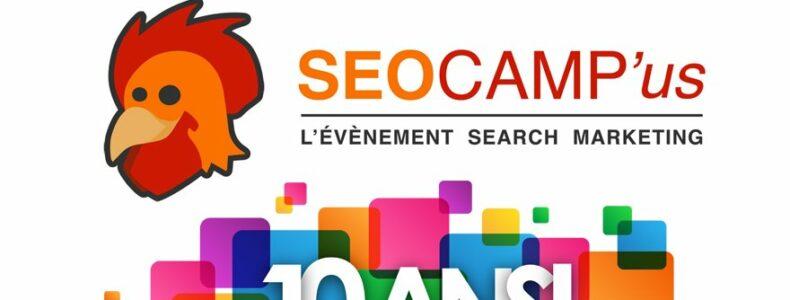SEO Camp'Us Paris 2018 le 22 et 23 Mars