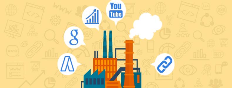 Industrie 4.0 : le Webmarketing au service des PME Industrielles Françaises