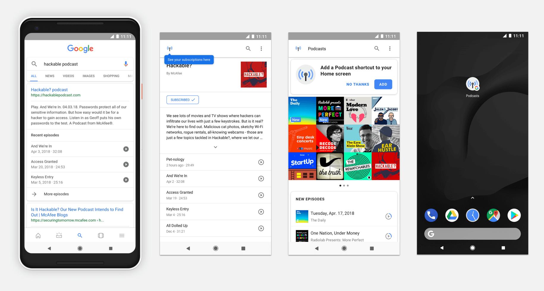 Google et référencement de contenu audio - 1ère Position