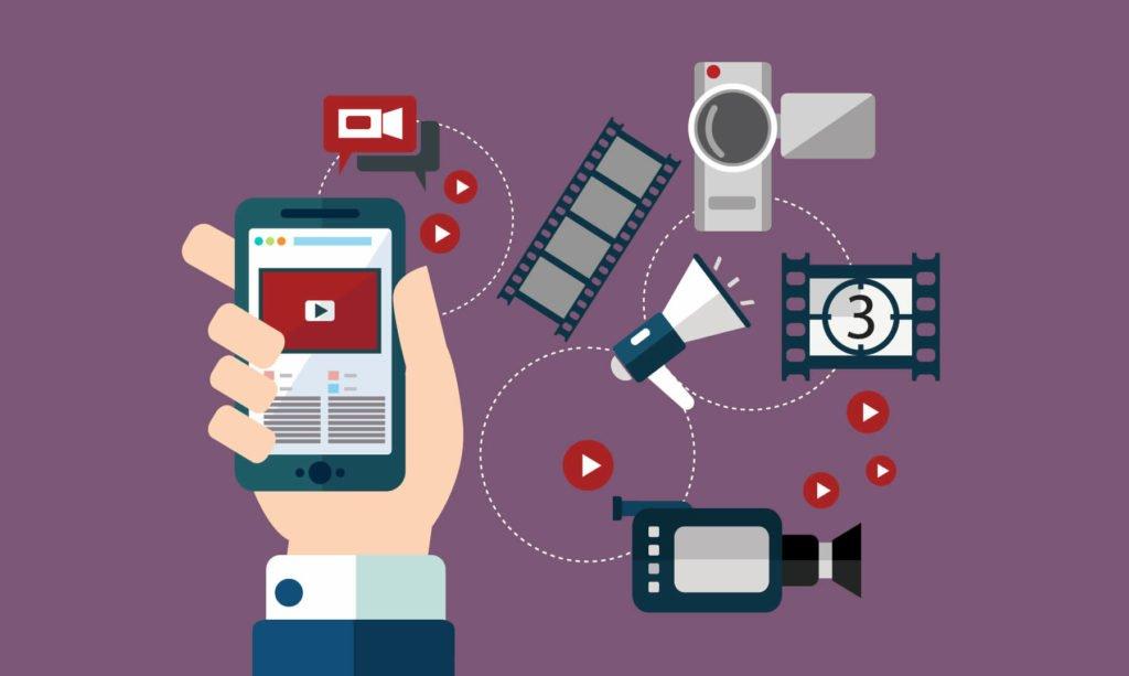 Illustration sur le référencement video et le référencement youtube