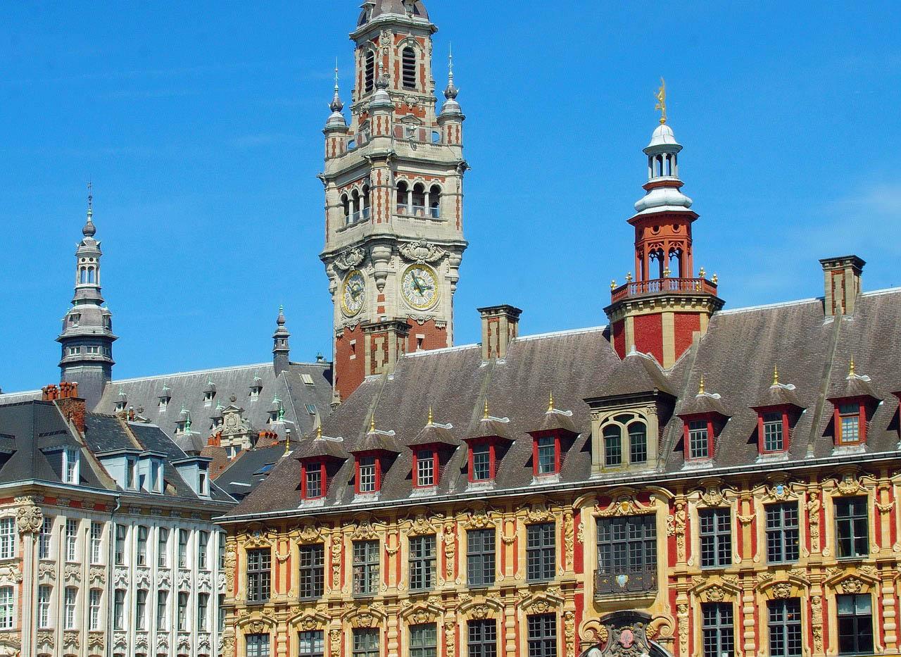 Photo de Lille où est l'installée l'agence Open Linking